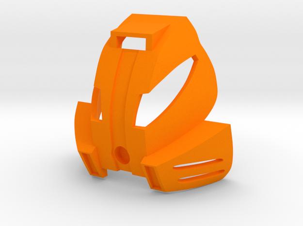 Kanohi Kakama in Orange Processed Versatile Plastic