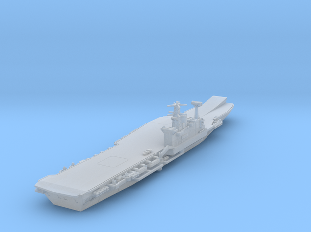 1/1800 HMS Hermes with Ski Jump in Smooth Fine Detail Plastic