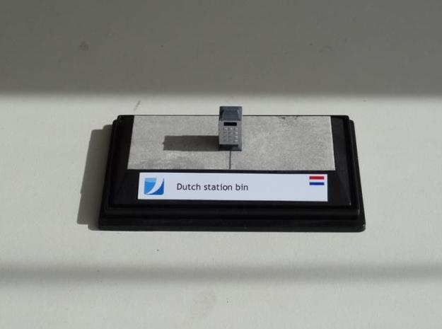 NL101 - Dutch Station Bin set (H0) 3d printed