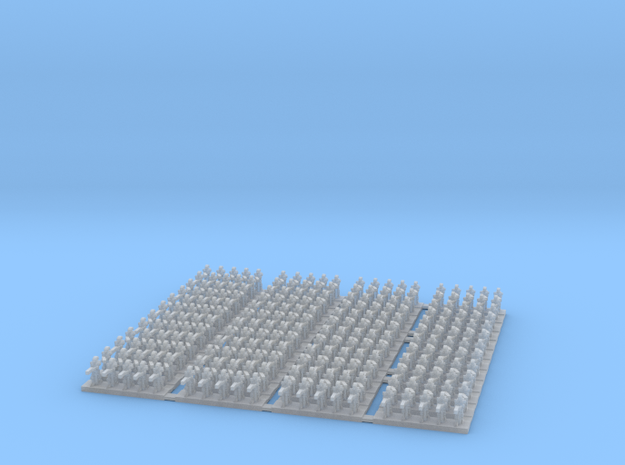 3mm B1 Battle Droids (240) in Smooth Fine Detail Plastic