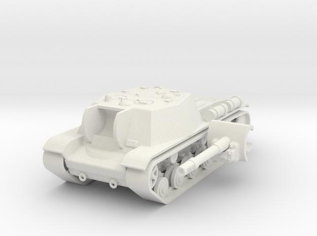 1/100 SU-152 in White Natural Versatile Plastic