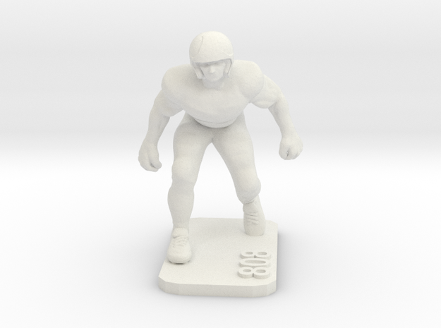 Safety in White Natural Versatile Plastic