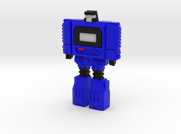 Retro Time Robot (Blue)