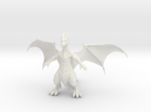 Drewgon in White Natural Versatile Plastic