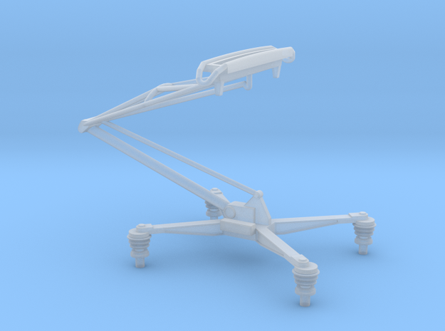 (1:76) Class 86 Pantograph in Smooth Fine Detail Plastic