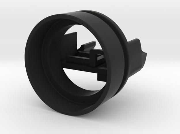 Bolsey speaker holder for 24 mm bass speakers in Black Natural Versatile Plastic
