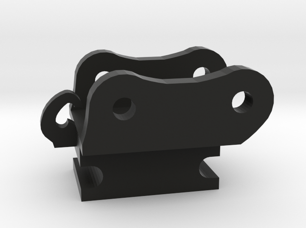 7.5 mm snelwissel Akerrman Joal in Black Natural Versatile Plastic
