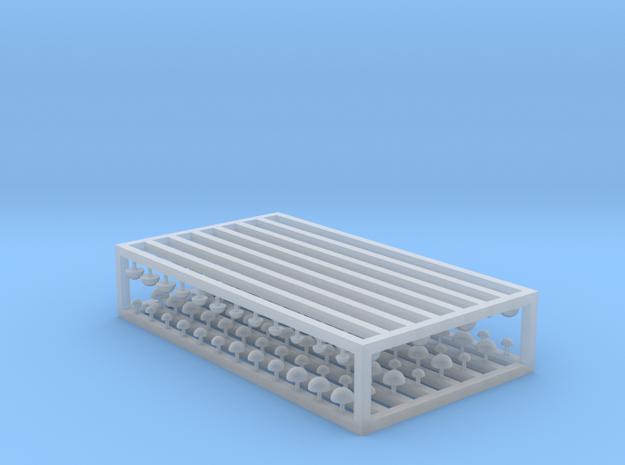 Pilze 192er Set - 1:120 TT in Smooth Fine Detail Plastic