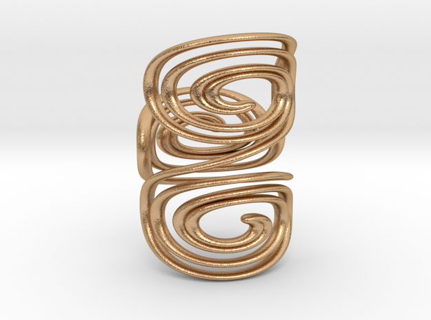 Water triple spiral ring