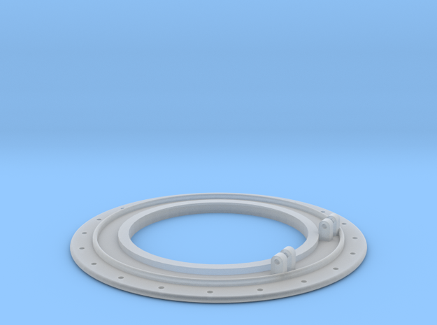 119 smokebox cover in Smooth Fine Detail Plastic