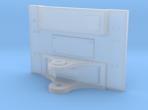 1:50 Caterpillar D6K Rear Htch Plate in Smooth Fine Detail Plastic