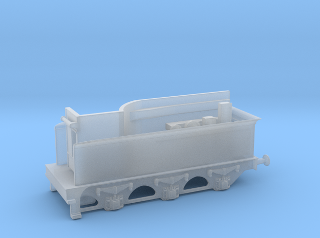 1:148 - N - Furness & Cambrian Tender in Smooth Fine Detail Plastic