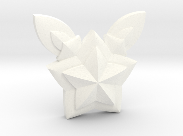 Jinx Star Guardian Pin in White Processed Versatile Plastic