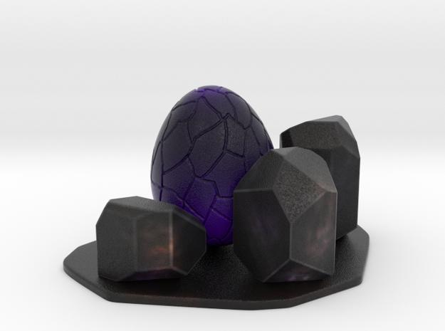 Purple dragon egg scene 1