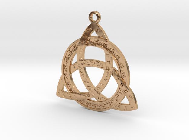 Constantine Bulletproof Necklace in Polished Bronze