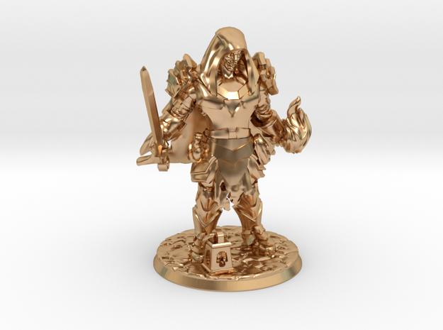 Cocky Sorcadin in Polished Bronze