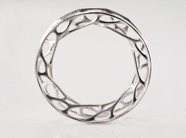 Convolution Bangle sz M 3d printed