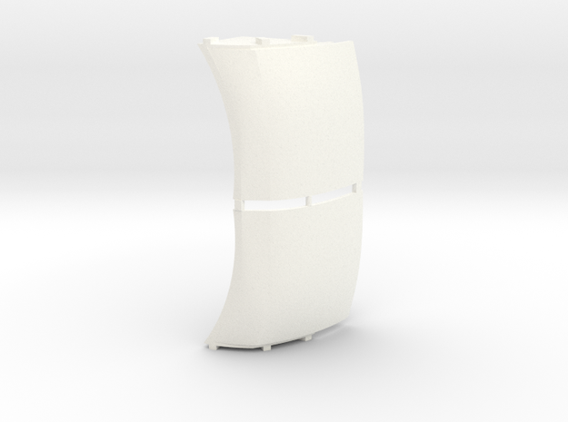 Prostar Front Quarter Fender Panels in White Processed Versatile Plastic