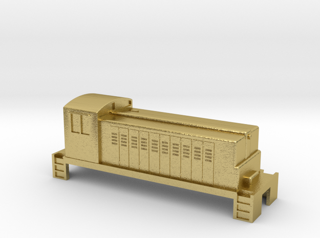 Switcher - Metal - Zscale in Natural Brass