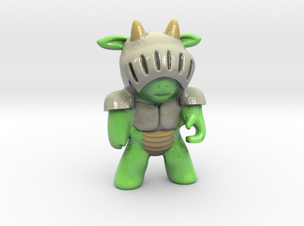 Dragon Mini in Glossy Full Color Sandstone