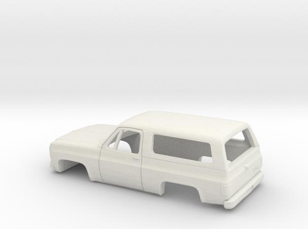 1/32 1973-79 GMC Jimmy in White Natural Versatile Plastic