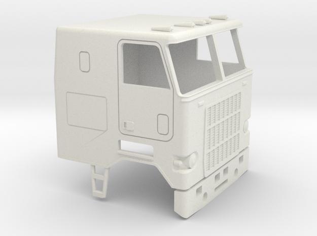 1/50  Mack Cruise-Liner Cab in White Natural Versatile Plastic