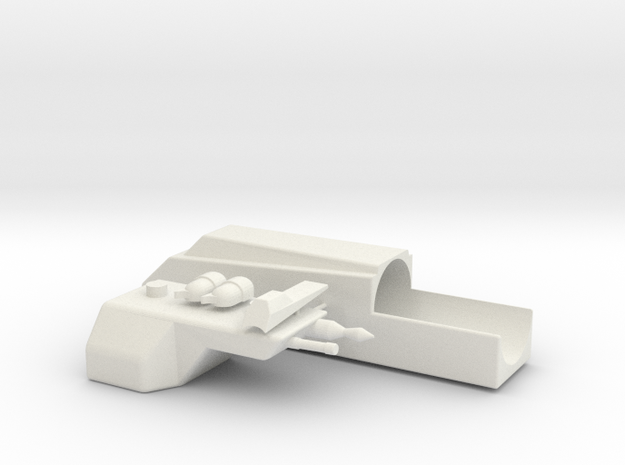 Pre-Pro #2 Sling Gun (No Kaiser & Telescope Parts) in White Natural Versatile Plastic