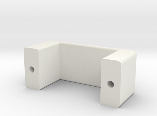 Hetmanski Hobbies Traxxas TRX-4 Shifter Servo Clam in White Natural Versatile Plastic: 1:10
