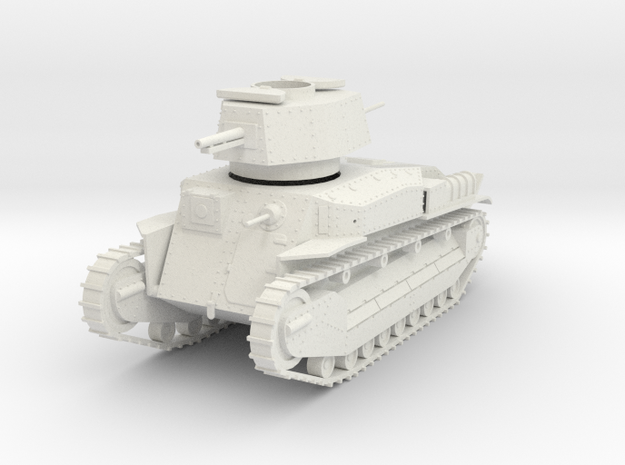 PV24I Type 89B Medium Tank (1/30) in White Natural Versatile Plastic