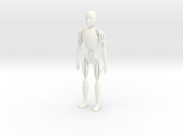 NS-5 I Robot Sonny in White Processed Versatile Plastic