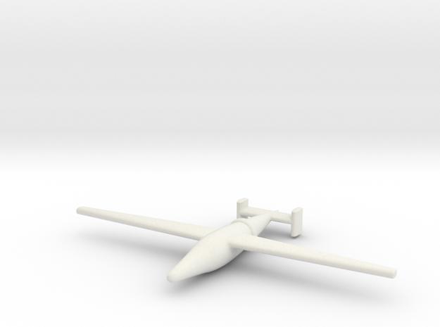 """(1:144) Blohm & Voss BV 246 """"Radieschen"""" in White Natural Versatile Plastic"""