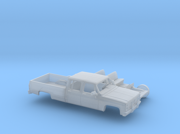 1/160 1981-88 GMC Sierra Crew Cab Kit in Smooth Fine Detail Plastic