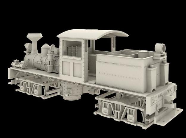 Nn3 Scale Class A, 16 Ton, 'T' Boiler Shay in Smoothest Fine Detail Plastic
