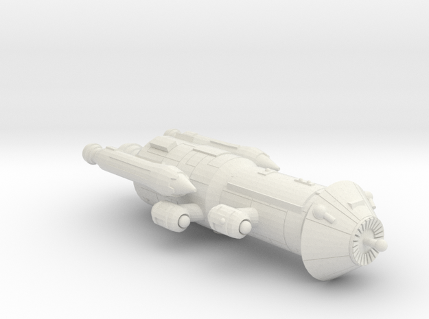 3788 Scale Iridani Caravel-B MGL in White Natural Versatile Plastic