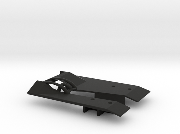 The Best CC01 Skid Plate EVER in Black Natural Versatile Plastic