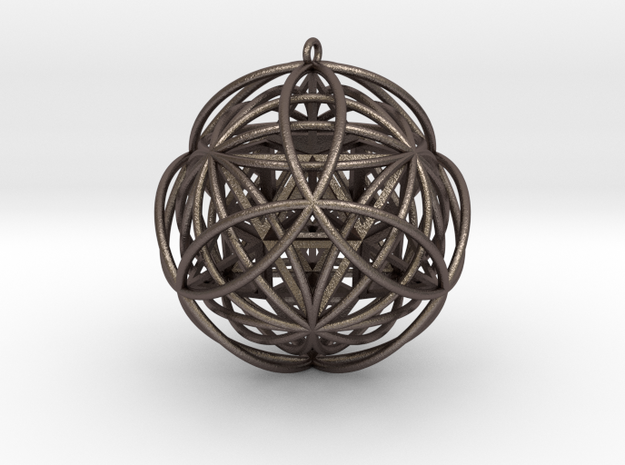 Stellated Vector Equilibrium Pendant v2