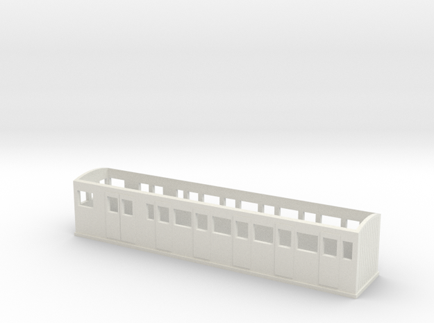 OO9 L&B Style Observation Coach in White Natural Versatile Plastic