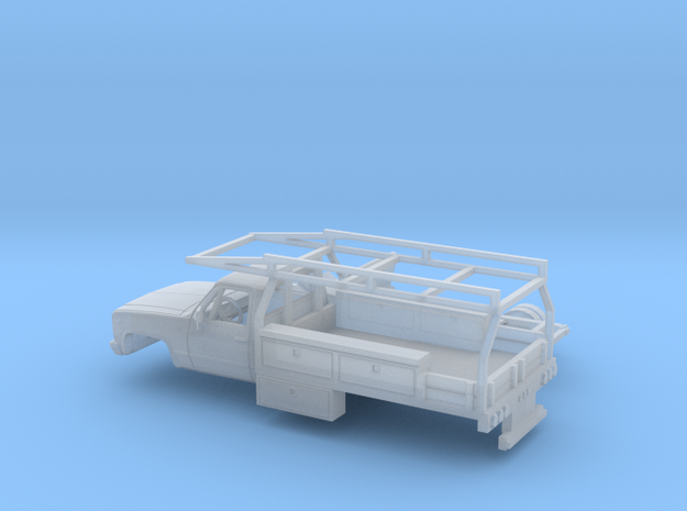 1/160 1981-88 GMC Sierra Reg Cab Contractor Kit in Smooth Fine Detail Plastic