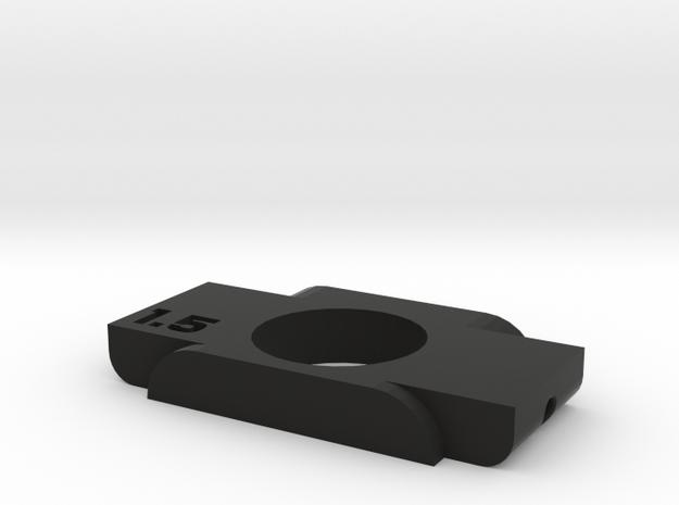 Anticondensa Billet Box Rev4  1.5 in Black Natural Versatile Plastic