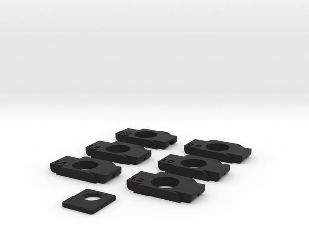 Anticondensa Billet Box Rev4  Pack in Black Natural Versatile Plastic