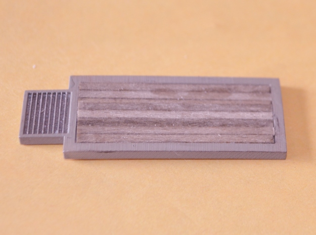 N-Scale Grain Scales 3d printed Painted & Detailed Production Sample