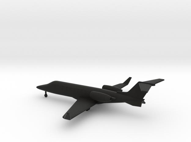 Bombardier Learjet 70 in Black Natural Versatile Plastic: 1:200