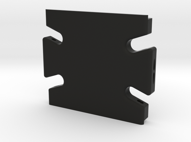 Gen2-blank skid in Black Natural Versatile Plastic