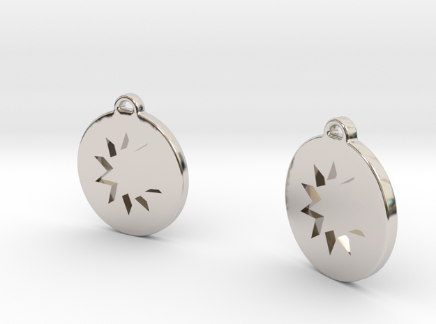 Power Drops in Rhodium Plated Brass