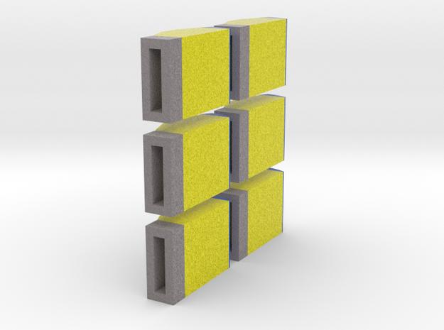[6st] Kaartjesautomaat 1:87 in Natural Full Color Sandstone