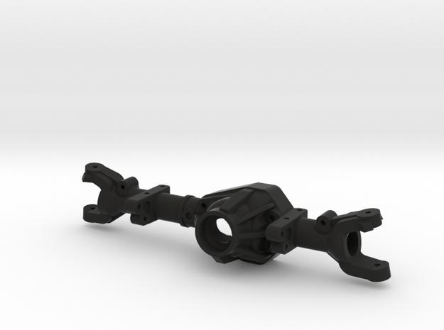 NC60 - CMAX 170 Leaf - Front in Black Natural Versatile Plastic