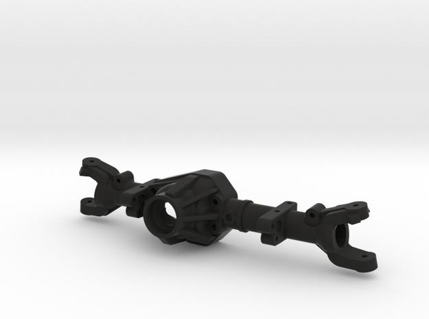 NC60 170mm Front Leafed L Drop for GCM CMAX in Black Natural Versatile Plastic