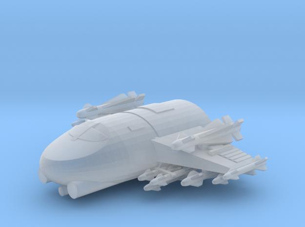 285 Scale Klingon Z-KB Fast Heavy Fighter MGL in Smooth Fine Detail Plastic