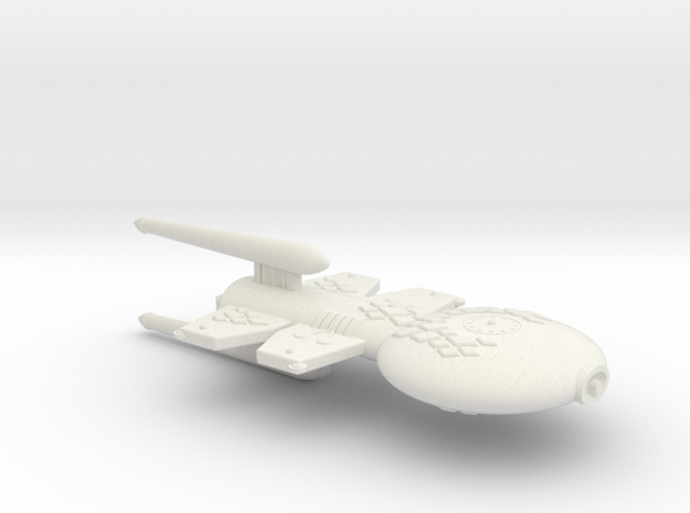 3788 Scale Gorn Double-Wing Destroyer+ (DDW+) SRZ in White Natural Versatile Plastic