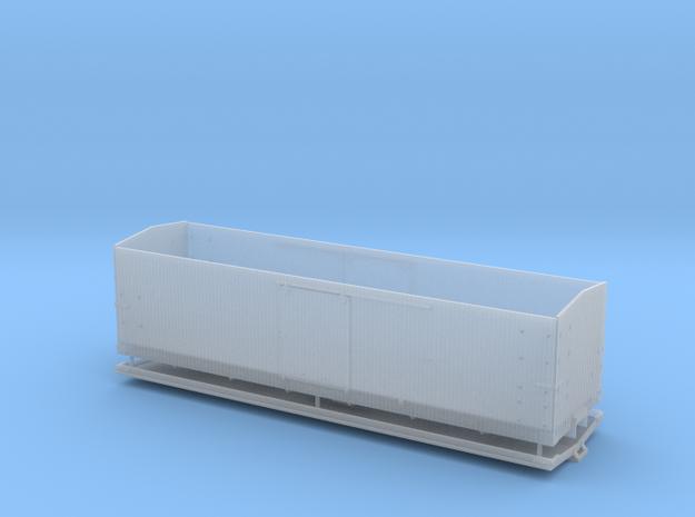 CS Type III Wood Roof Box car HOn3